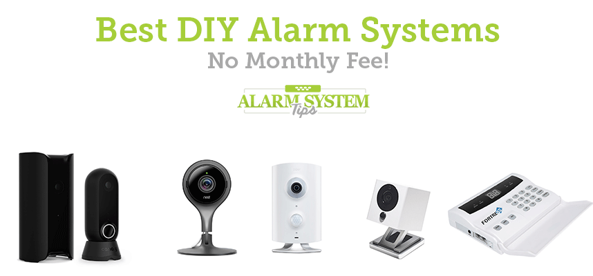 best diy alarm systems with no monthly fee