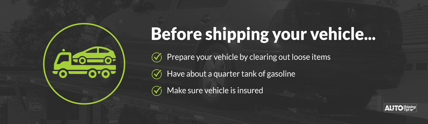 tips before you ship your auto